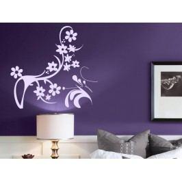 Samolepka na zeď Ornamenty z rostlin 043