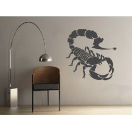 Samolepka na zeď Škorpión 001