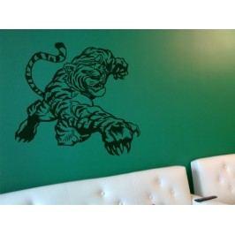 Samolepka na zeď Tygr 002