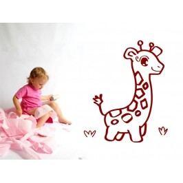 Samolepka na zeď Žirafa 001