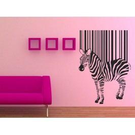 Samolepka na zeď Zebra 016