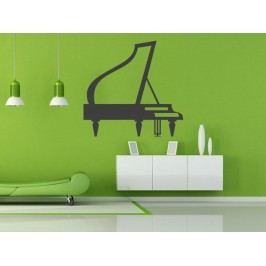 Samolepka na zeď Piano 002
