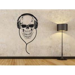 Samolepka na zeď Sluchátka 003