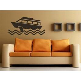 Samolepka na zeď Loď 006