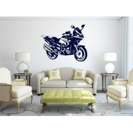 Samolepka na zeď Motorka 016