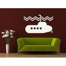Samolepka na zeď Ponorka 001