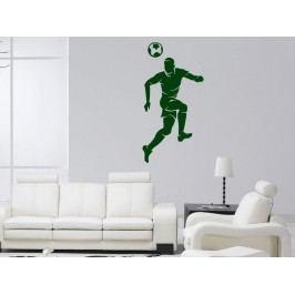Samolepka na zeď Fotbalista 015