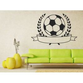 Samolepka na zeď Fotbalový míč 001