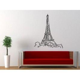 Samolepka na zeď Eifelova věž 003
