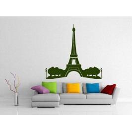 Samolepka na zeď Eifelova věž 008