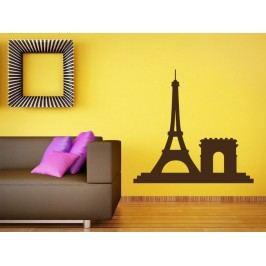 Samolepka na zeď Paříž 009