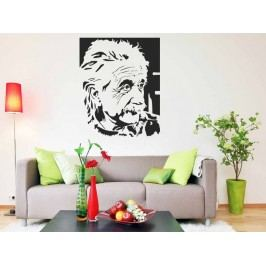 Samolepka na zeď Albert Einstein 001