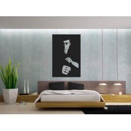 Samolepka na zeď Bruce Lee 001