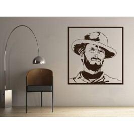 Samolepka na zeď Clint Eastwood 001