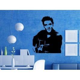 Samolepka na zeď Elvis Presley 001