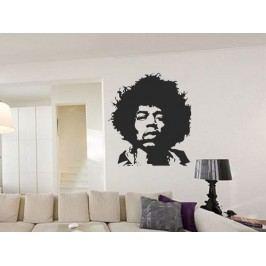 Samolepka na zeď Jimmy Hendrix 001