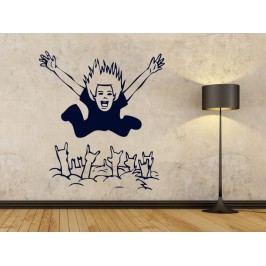 Samolepka na zeď Muž 001