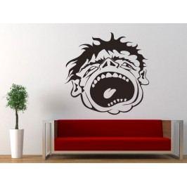 Samolepka na zeď Obličej 001