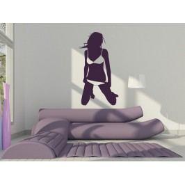 Samolepka na zeď Sexy žena 005