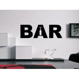 Samolepka na zeď Bar 001