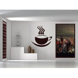 Samolepka na zeď Hrnek kávy 0045