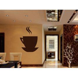Samolepka na zeď Hrnek kávy 0046