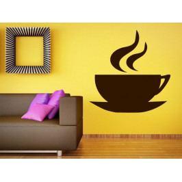 Samolepka na zeď Hrnek kávy 0047