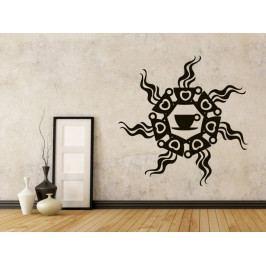 Samolepka na zeď Hrnek kávy 0051