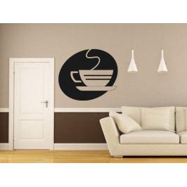 Samolepka na zeď Hrnek kávy 0054