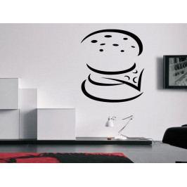 Samolepka na zeď Burger 0117
