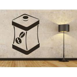 Samolepka na zeď Dóza na kávu 0124
