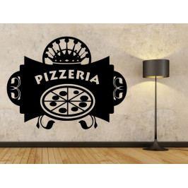 Samolepka na zeď Nápis Pizzeria 0151