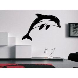 Samolepka na zeď Delfín 0196