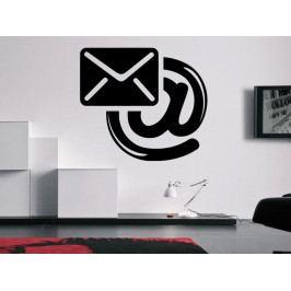 Samolepka na zeď Email 0199