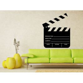 Samolepka na zeď Filmová klapka 0205