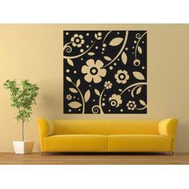 Samolepka na zeď Květiny 0215