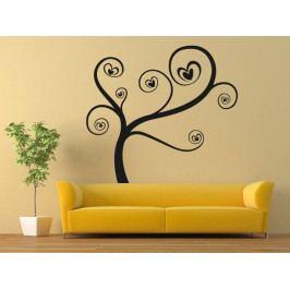 Samolepka na zeď Zamilovaný strom 0226