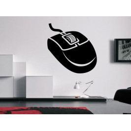 Samolepka na zeď PC myš 0292
