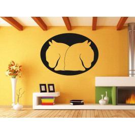 Samolepka na zeď Dva koně 0405