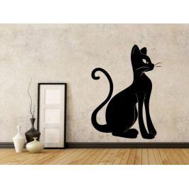 Samolepka na zeď Kočka 0466