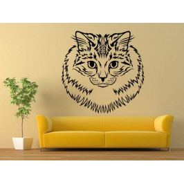 Samolepka na zeď Kočka 0472