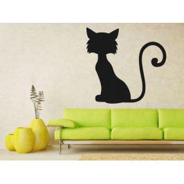 Samolepka na zeď Kočka 0502