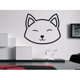 Samolepka na zeď Kočka 0503