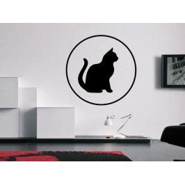 Samolepka na zeď Kočka 0508