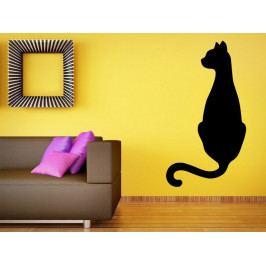 Samolepka na zeď Kočka 0512