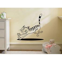 Samolepka na zeď Kočička 0515
