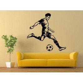 Samolepka na zeď Fotbalista 0583