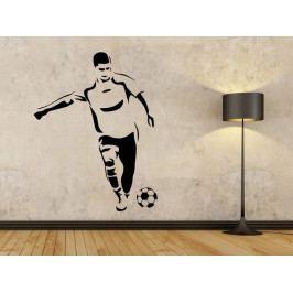 Samolepka na zeď Fotbalista 0589