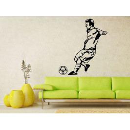 Samolepka na zeď Fotbalista 0592