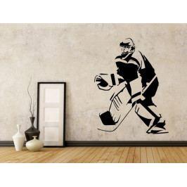 Samolepka na zeď Hokejista 0599